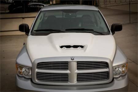 TruFiber - TruFiber A64 Fiberglass Hood: Dodge Ram 2002 - 2008
