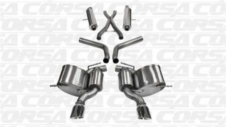 Corsa - Corsa Sport Cat-Back Exhaust: Chrysler 300C SRT8 2012 - 2014