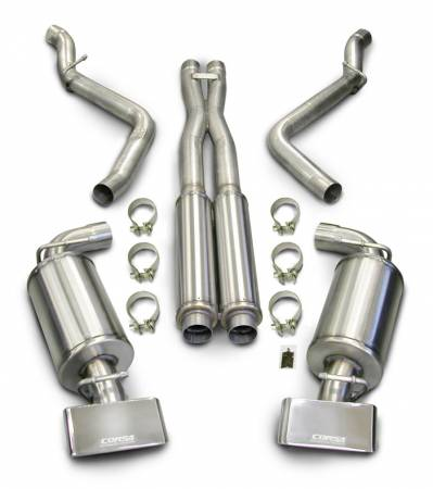 Corsa - Corsa Performance Exhaust: Dodge Challenger R/T 5.7 2009 - 2014 (Automatic Only)