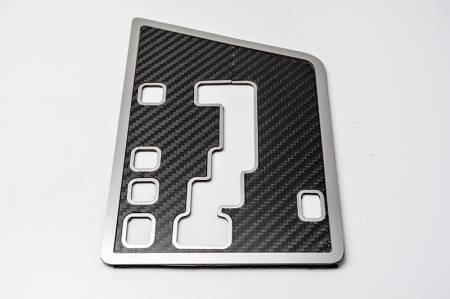 American Car Craft - American Car Craft Carbon Fiber Shift Plate: Dodge Challenger R/T SRT8 2008 - 2014 (Auto Only)