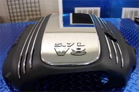 American Car Craft - American Car Craft 5.7L Hemi Engine Shroud Dress Up Kit: Dodge Challenger R/T 2009 - 2020