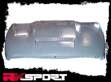 RK Sport - RK Sport Ram Air Hood: Dodge Ram 2002 - 2008