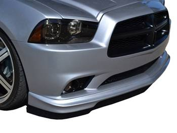 RK Sport - RK Sport Ground Effects Kit with Carbon Fiber Front Lower Valance: Dodge Charger 2011 - 2014