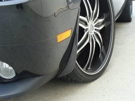 TruCarbon - TruCarbon LG41 Carbon Fiber Splash Guards: Dodge Challenger 2008 - 2014