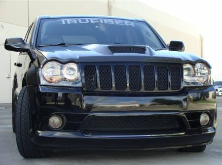 TruCarbon - TruCarbon A23 Carbon Fiber Hood: Jeep Grand Cherokee 2005 - 2010