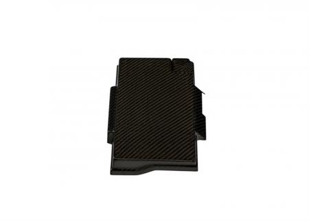 TruCarbon - TruCarbon LG189 Carbon Fiber Fuse Box Cover: Jeep Grand Cherokee 2011 - 2020