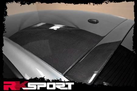 RK Sport - RK Sport Carbon Fiber Roof Spoiler: Dodge Charger 2011 - 2014