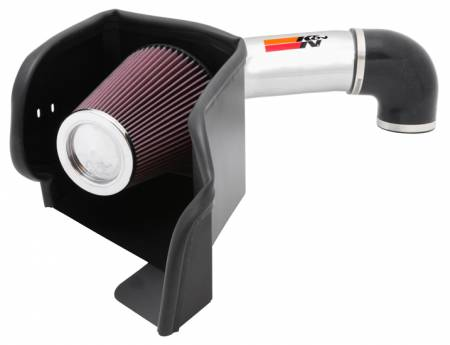 K&N Filters - K&N 77 Series Cold Air Intake: Dodge Ram 5.7L Hemi (1500 / 2500 / 3500)  2009 - 2018