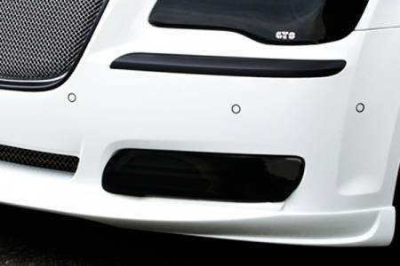 GTS - GT Styling  Smoke Fog Light Covers: Chrysler 300 2011 - 2019