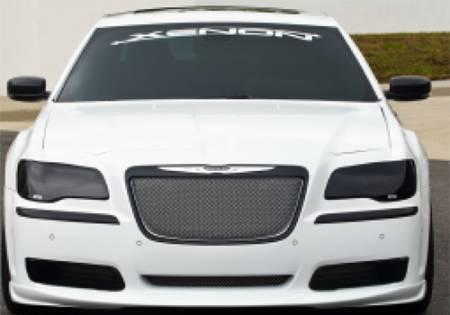 GTS - GT Styling Smoke Headlight Covers: Chrysler 300 2011 - 2014