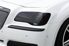 GT Styling - GT Styling Smoke Headlight Covers: Chrysler 300 2011 - 2014