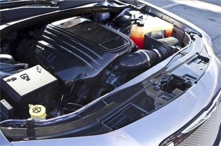 TruCarbon - TruCarbon LG134 Carbon Fiber Radiator Cover: Chrysler 300 2011 - 2014