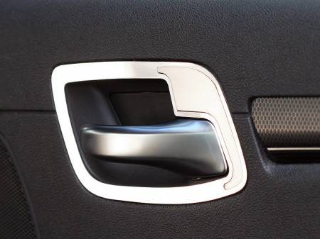American Car Craft - American Car Craft Rear Door Handle Pull Set Polished / Brushed: Chrysler 300 2011 - 2014