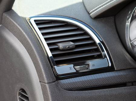 American Car Craft - American Car Craft A/C Vent Trim Outer Polished / Brushed: Chrysler 300 2011 - 2013