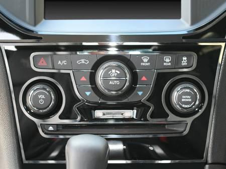 American Car Craft - American Car Craft Polished A/C Radio Control Trim Ring 2Pc:  Chrysler 300 2011-2013