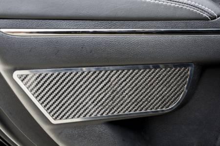 American Car Craft - American Car Craft Rear Carbon Fiber Door Badge 2pc: Dodge Charger 2011 - 2021