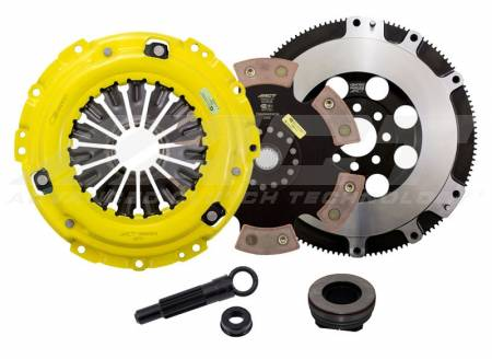 ACT - ACT 6-Puck Race Clutch Kit (Extreme Pressure Plate / Solid Hub): Dodge Neon SRT4 2003 - 2005
