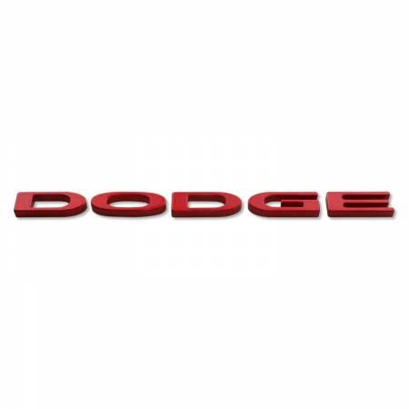 "American Brother Designs - American Brother Designs ""Dodge Logo""  Exterior Trunk Badge: Dodge Challenger 2015 - 2020"