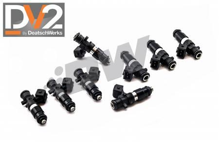 Deatschwerks - Deatschwerks 1200cc Fuel Injectors for Dodge Challenger / Charger / RAM (1500/2500) 2003 - 2021 (5.7/6.1/6.4)