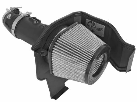 AFE Power - AFE Momentum Magnum Force Stage-2 Pro Dry S Cold Air Intake: Dodge Challenger / Charger Hellcat 6.2L 2015 - 2019