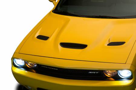 Cervini's - Cervinis Hellcat Hood: Dodge Challenger 2008 - 2020 (All Models)