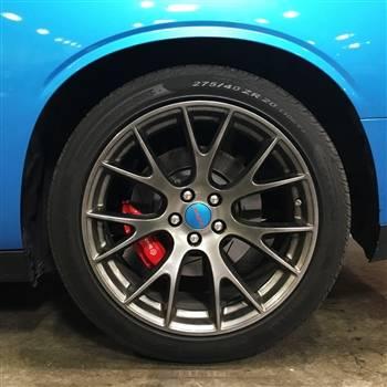 American Brother Designs - American Brother Designs SRT Wheel Center Caps: Dodge Challenger / Charger SRT 2015 - 2020