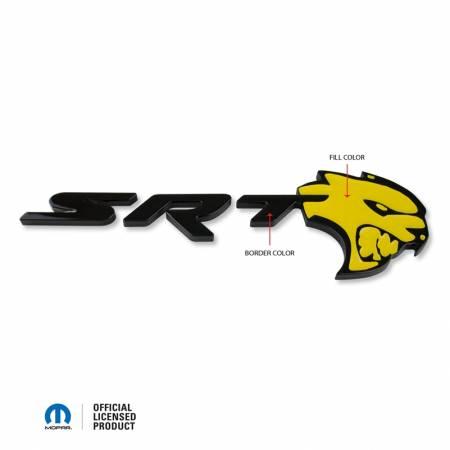 American Brother Designs - American Brother Designs SRT Hellcat Rear Trunk Badge: Dodge Challenger 2017 - 2020