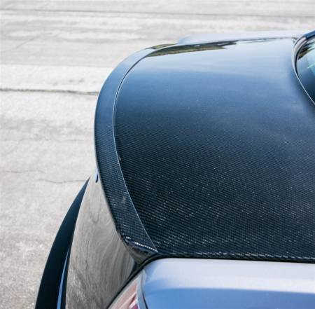 TruCarbon - TruCarbon DCA49 Carbon Fiber Rear Spoiler: Chrysler 300 2011 - 2020