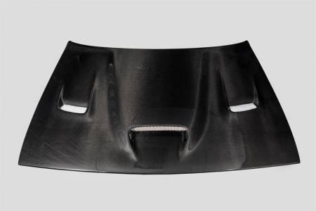TruCarbon - TruCarbon A19 Carbon Fiber Hood: Dodge Challenger 2008 - 2020