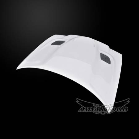Amerihood - Amerihood Hellcat Functional Ram Air Hood: Dodge Charger 2011 - 2014