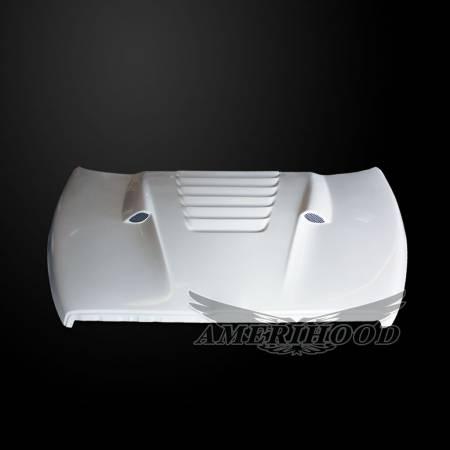 Amerihood - Amerihood TS Functional Ram Air Hood: Dodge Ram 1500 2002 - 2008