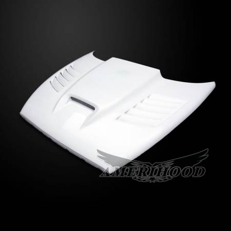 Amerihood - Amerihood SSK Functional Ram Air Hood: Dodge Dakota 1997 - 2004