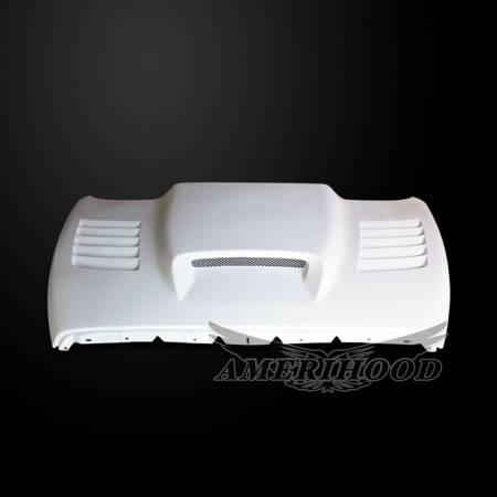 Amerihood - Amerihood SSK Functional Ram Air Hood: Dodge Ram 1500 2002 - 2008
