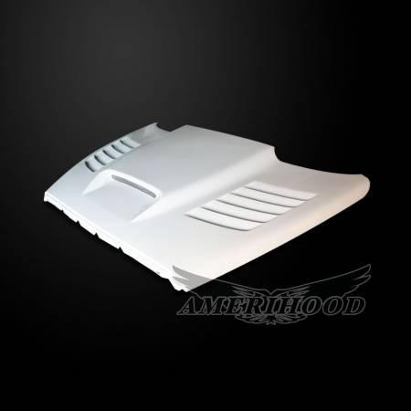 Amerihood - Amerihood SSK Functional Ram Air Hood: Dodge Ram 2500 2003 - 2009
