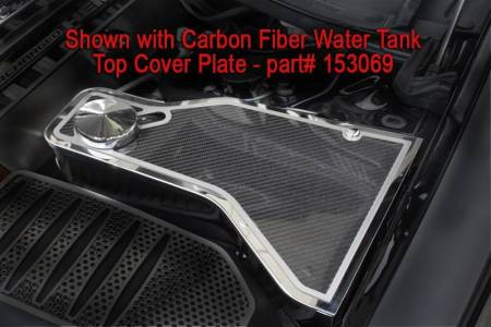 American Car Craft - American Car Craft Carbon Fiber Water Tank Top Cover Plate: Dodge Challenger 2011 - 2020 (V8 Models)