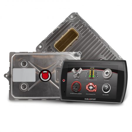 Diablo Sport - DiabloSport Modified PCM + Trinity 2 Programmer Combo: Dodge Ram 2019 (5.7L Hemi 1500 8-Speed, eTorque)