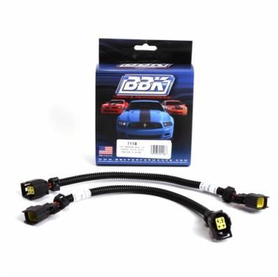 BBK Performance - BBK O2 Sensor Wiring Extension Kit: Dodge Challenger / Charger 6.2L SRT Hellcat 2015 - 2021 (Front O2 Only)