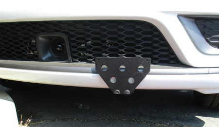 StoNSho - Sto N Sho Quick Release Front License Plate Bracket: Jeep Grand Cherokee High Altitude & Summit 2018 - 2020
