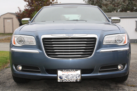 StoNSho - Sto N Sho Quick Release Front License Plate Bracket: Chrysler 300 2011 - 2014