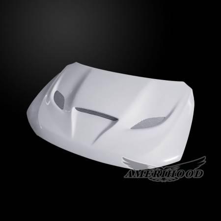 Amerihood - Amerihood Hellcat Functional Ram Air Hood: Dodge Durango 2011 - 2020