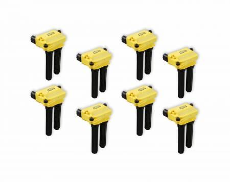 Accel High Output Ignition Coils (8-Pack, Dual Plug): 2005 - 2021 5.7L Hemi / 6.1L SRT8 / 6.4L 392 / 6.2L SRT Hellcat