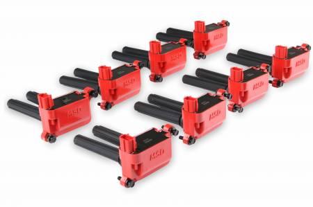 MSD Ignition - MSD Blaster HVC Ignition Coils (8-Pack, Dual Plug): 2005 - 2021 5.7L Hemi / 6.1L SRT8 / 6.4L 392 / 6.2L SRT Hellcat