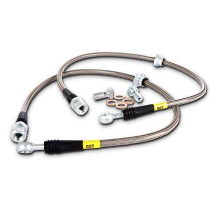 Stoptech - Stoptech Stainless Rear Brake Lines: 300 / Charger / Challenger 2005 - 2012 (Excl SRT8)