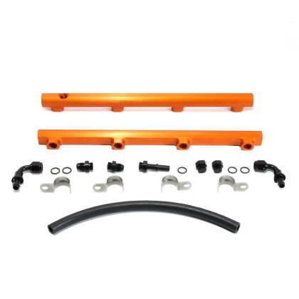 BBK Performance - BBK Performance High Flow Fuel Rails: Chrysler / Dodge / Jeep 5.7L Hemi / 6.1L SRT8 / 6.4L 392 / 6.2L SRT Hellcat & Trackhawk