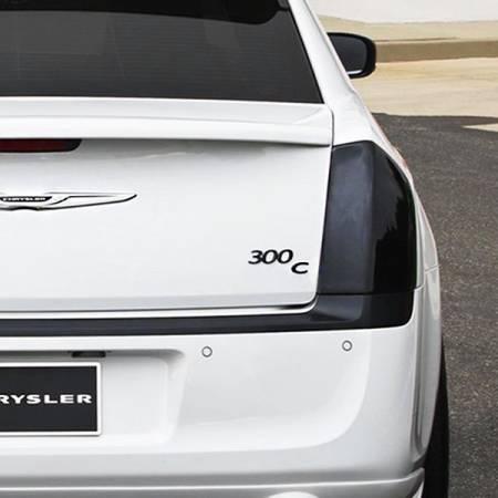 GT Styling - GT Styling Smoke Tail Light Covers: Chrysler 300 2011 – 2014