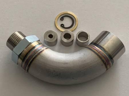 Vibrant - Vibrant O2 Sensor Restrictor Fitting (90-DEGREE) w/ Adjustable Jets (CEL Eliminator)