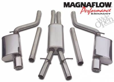 Dodge Charger Engine Performance - Dodge Charger Exhaust System - Magnaflow - Magnaflow Exhaust System: Chrysler 300C / Dodge Charger / Magnum 2005 - 2010 (6.1L SRT8)