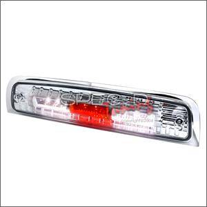 HEMI LIGHTING PARTS - Hemi Tail Lights - Spec D - Spec D LED Third Brake Light (Chrome): Dodge Ram 2009 - 2013
