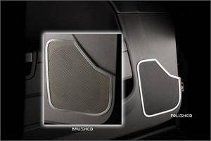 Dodge Challenger Interior Parts - Dodge Challenger Interior Trim - American Car Craft - American Car Craft Front Door Speaker Trim (Brushed or Polished): Dodge Challenger 2008 - 2014