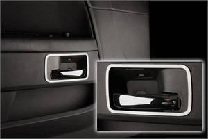 Dodge Challenger Exterior Parts - Dodge Challenger Exterior Trim - American Car Craft - American Car Craft Door Handle Trim Rings (Brushed or Polished): Dodge Challenger 2008 - 2014